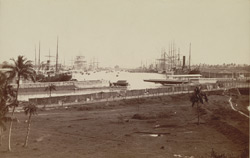 General view of Kidderpore Docks: Calcutta